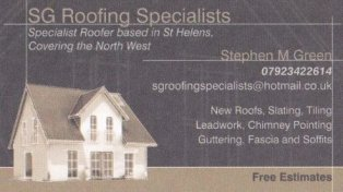 SG Roofing Specialists  logo