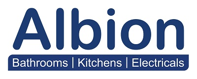 Albion Bathrooms Kitchens Electricals  logo