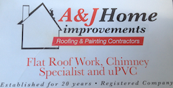 A & J Home Improvements  logo