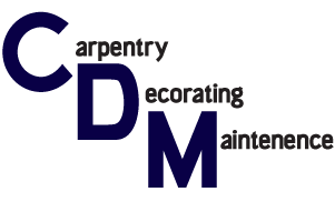 C D M - Carpentry Decorating & Maintenance  logo