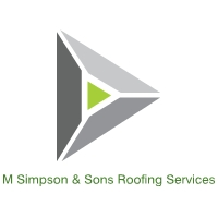 M Simpson & Sons Roofing Services  logo