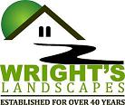 Wright's Landscapes  logo